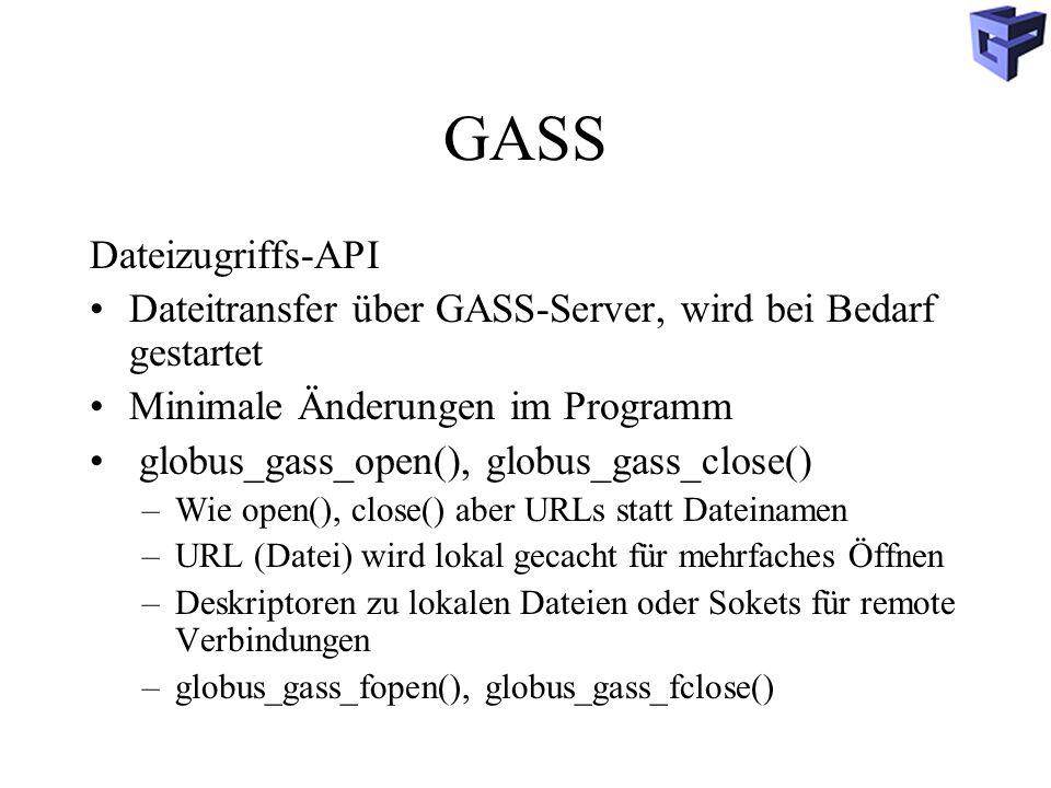 GASS Dateizugriffs-API