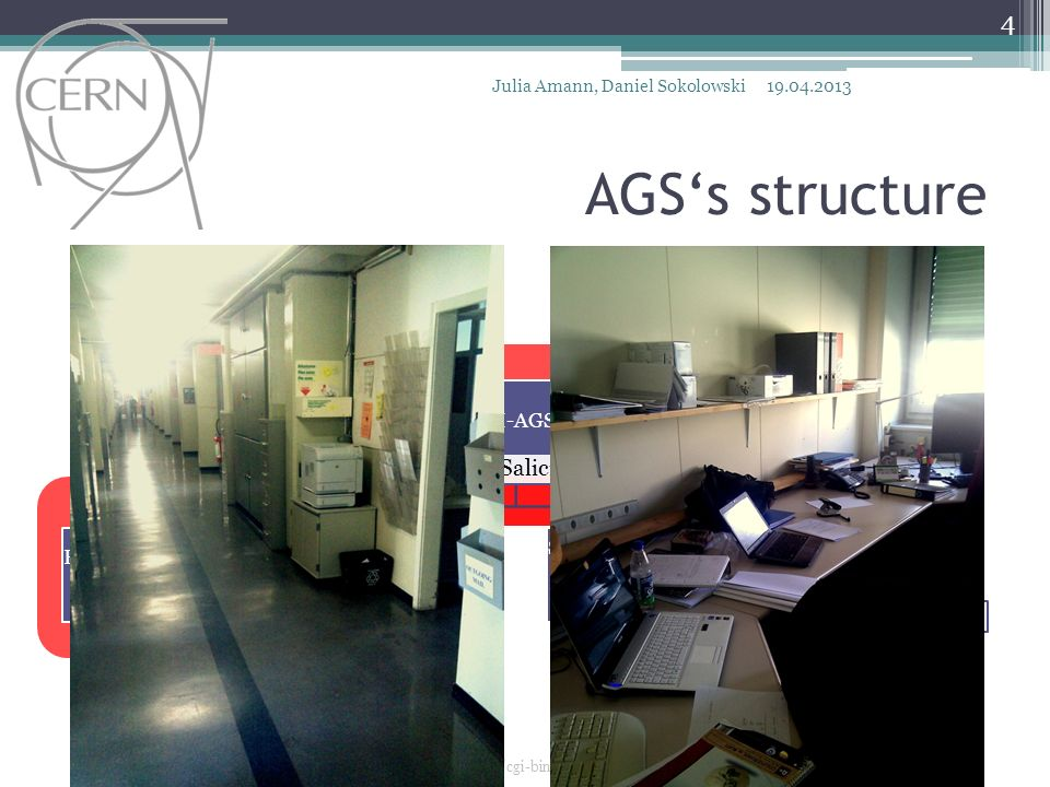 AGS's structure N. Knoors S. Auerbach S. Schmeling J. Salicio Diez