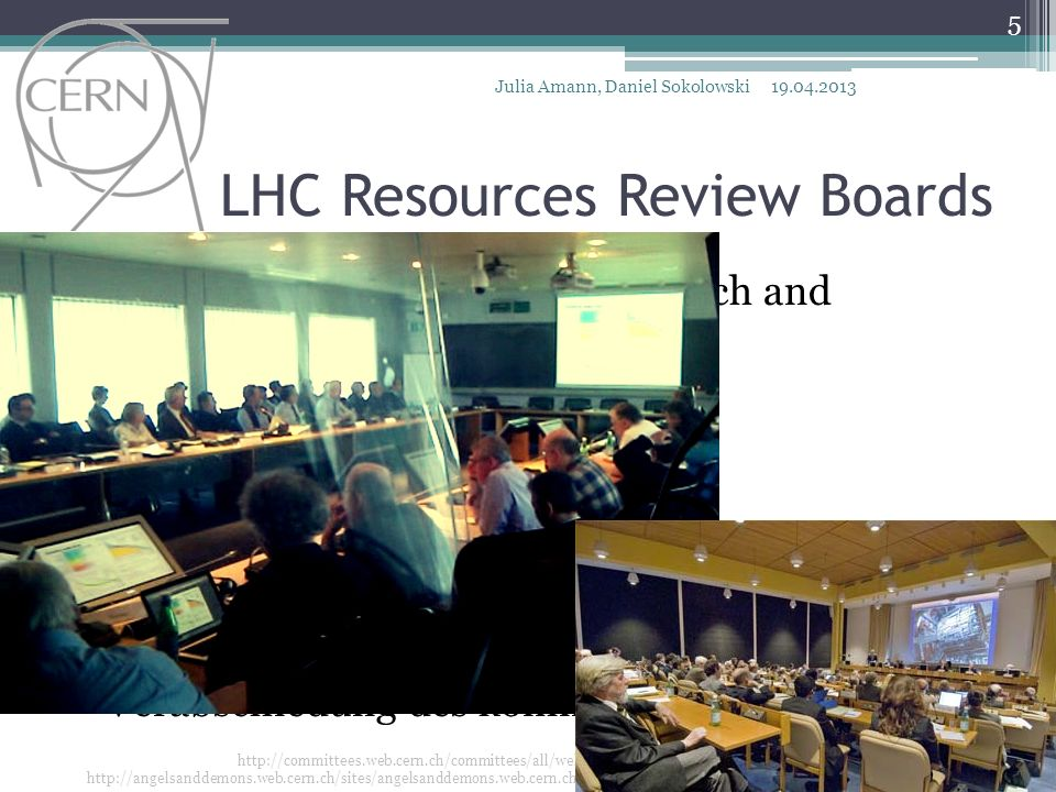 LHC Resources Review Boards