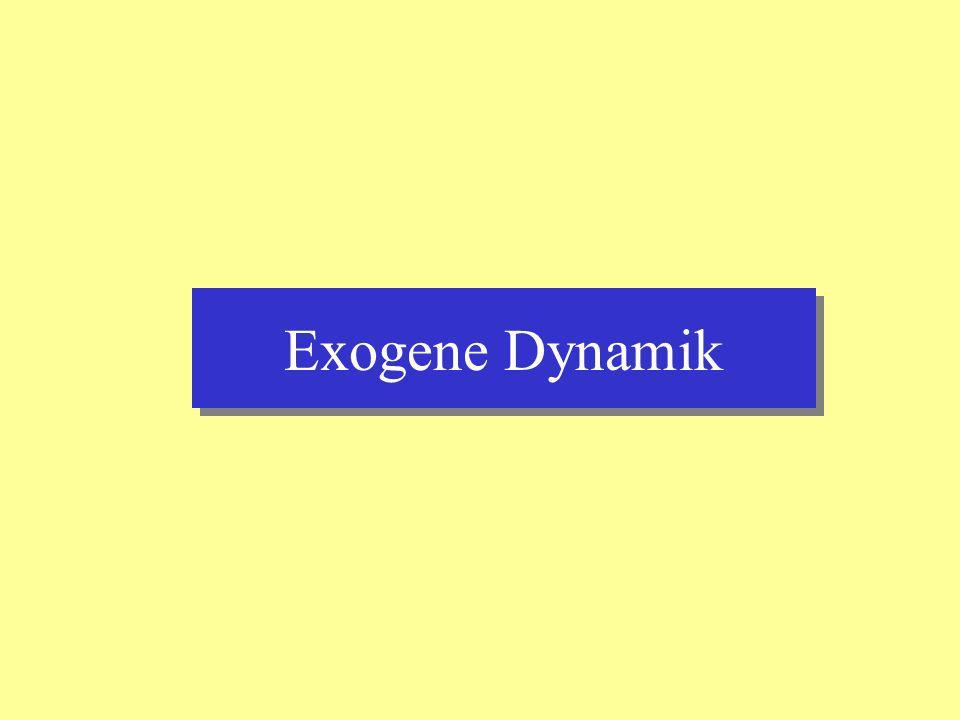 Exogene Dynamik