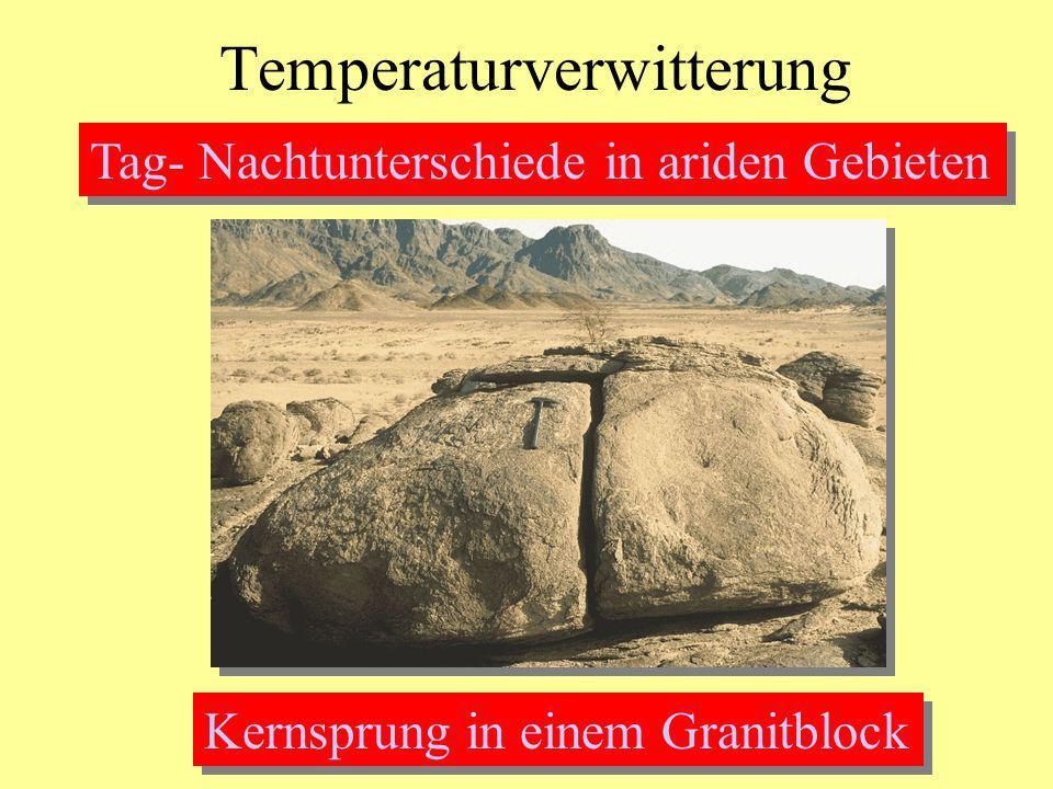 Temperaturverwitterung