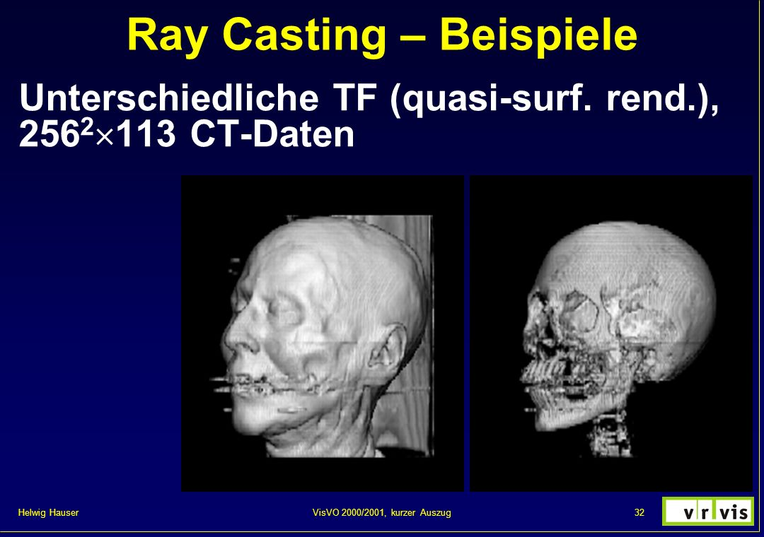 Ray Casting – Beispiele