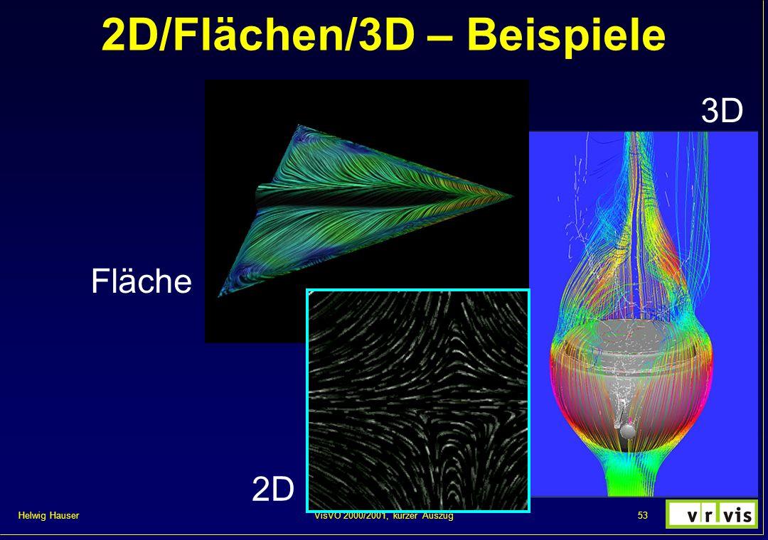 2D/Flächen/3D – Beispiele