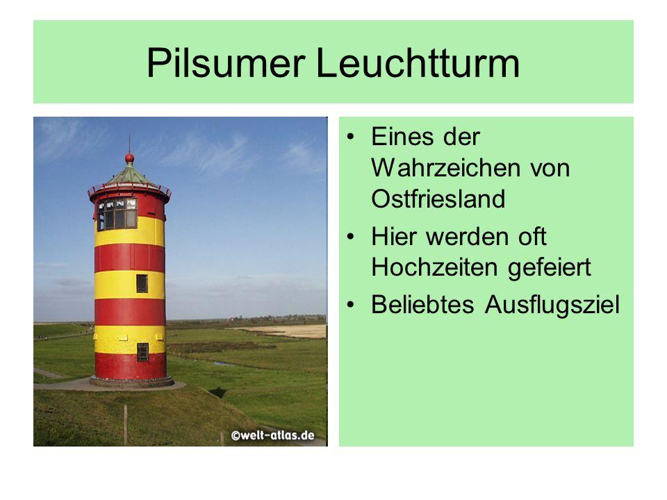 Pilsumer Leuchtturm Eines der Wahrzeichen von Ostfriesland