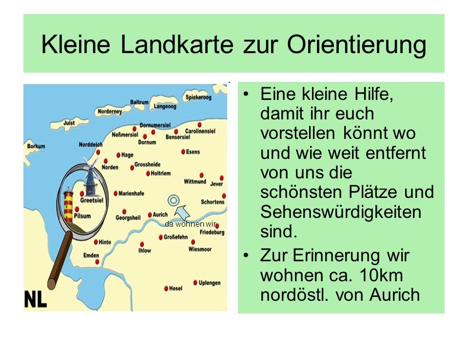 Kleine Landkarte zur Orientierung