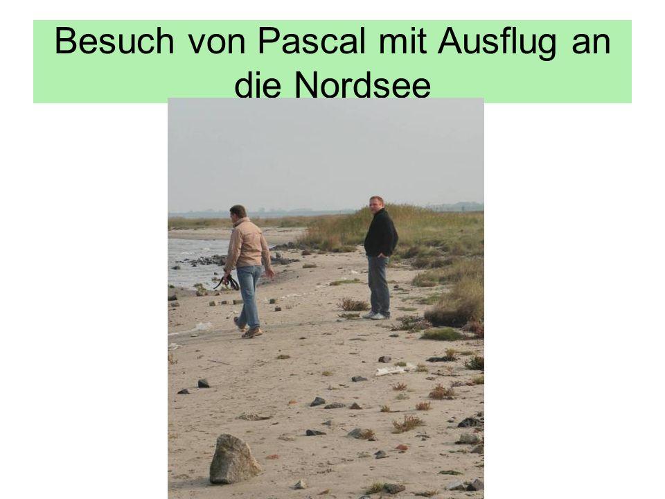 Besuch von Pascal mit Ausflug an die Nordsee