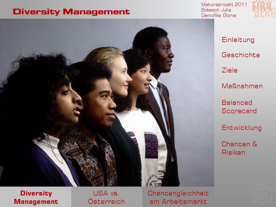 Chancengleichheit am Arbeitsmarkt