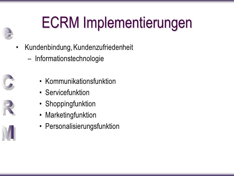 ECRM Implementierungen