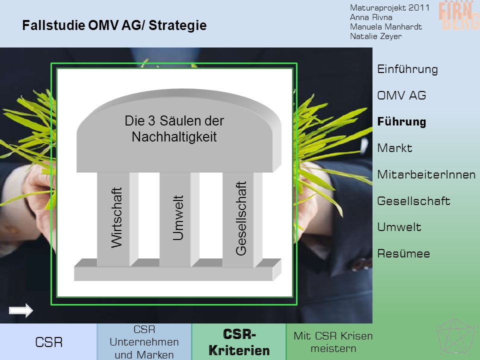 Fallstudie OMV AG/ Strategie