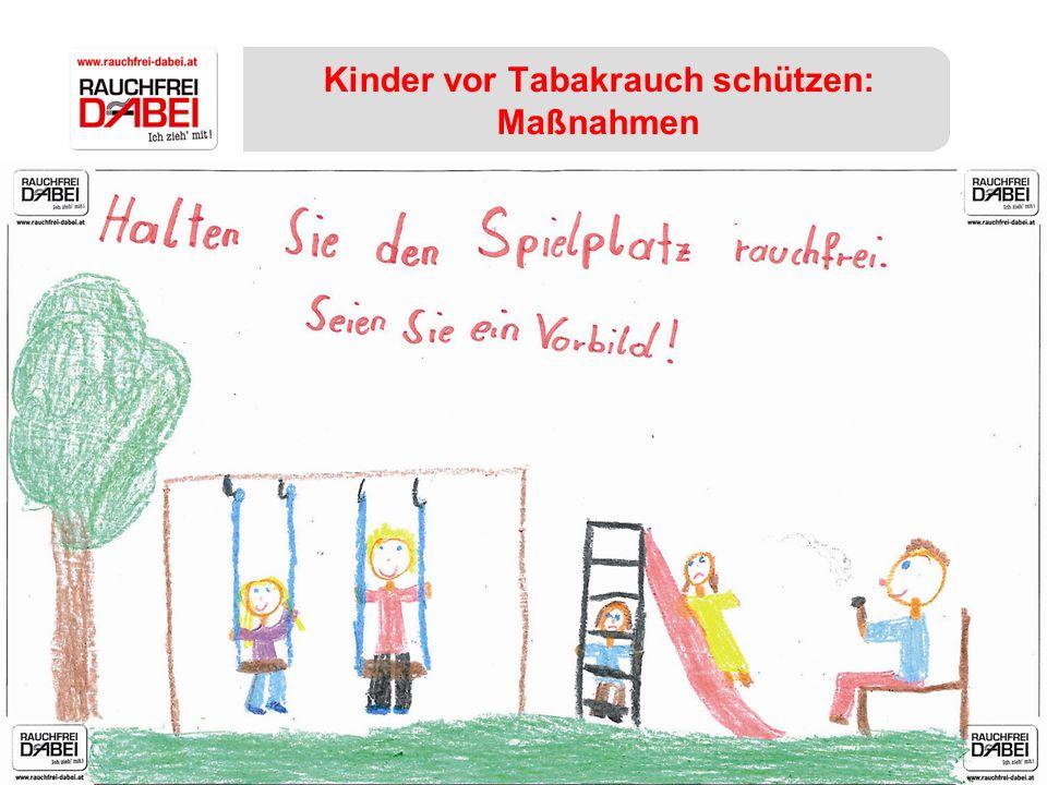 Kinder vor Tabakrauch schützen: Maßnahmen