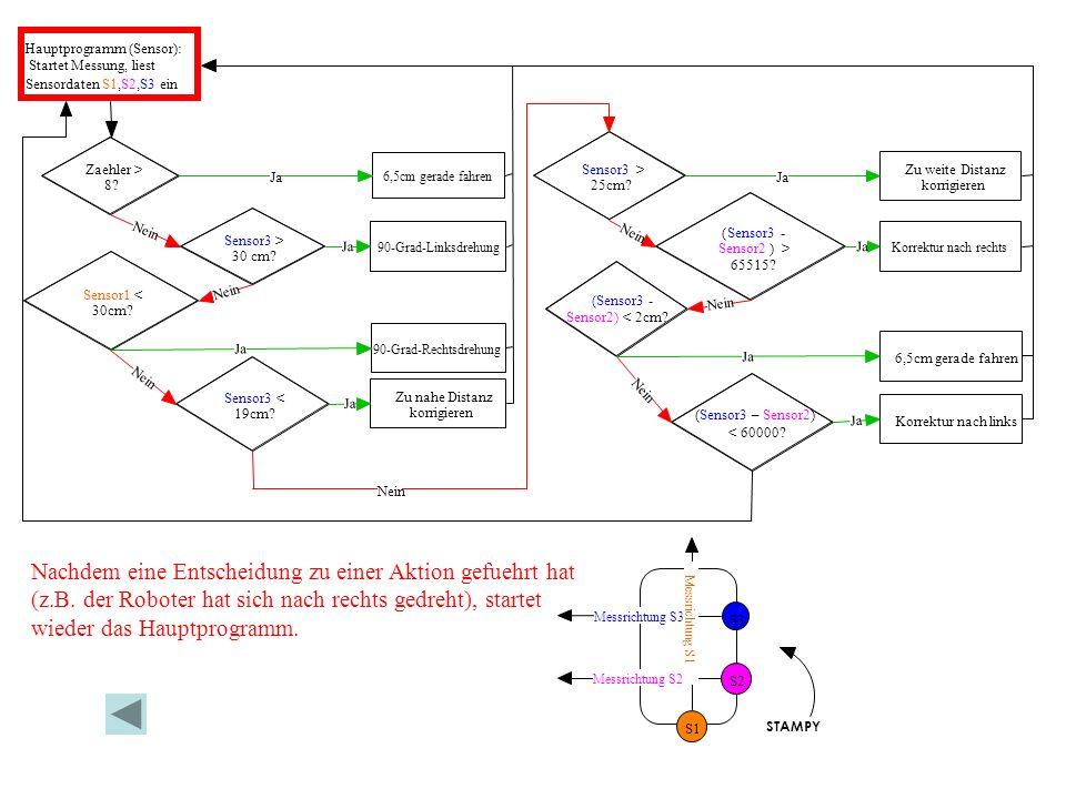 Hauptprogramm (Sensor):