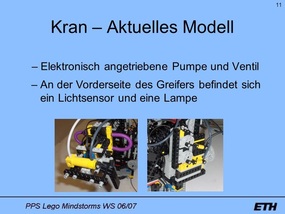 Kran – Aktuelles Modell