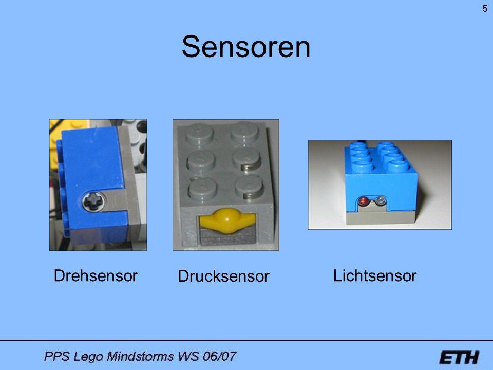 Sensoren Drehsensor Drucksensor Lichtsensor