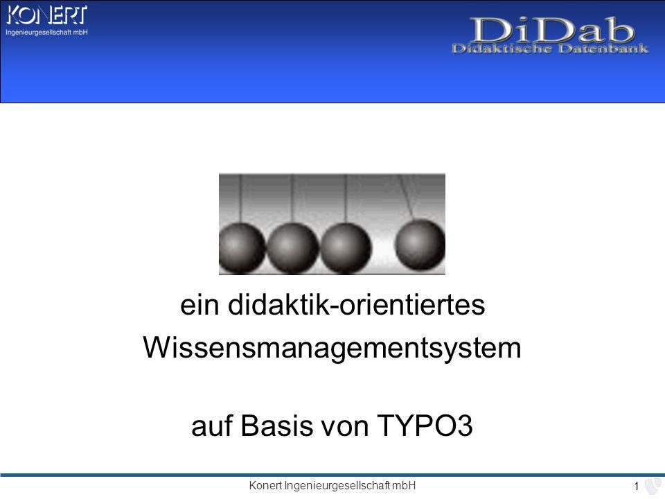 ein didaktik-orientiertes Wissensmanagementsystem auf Basis von TYPO3