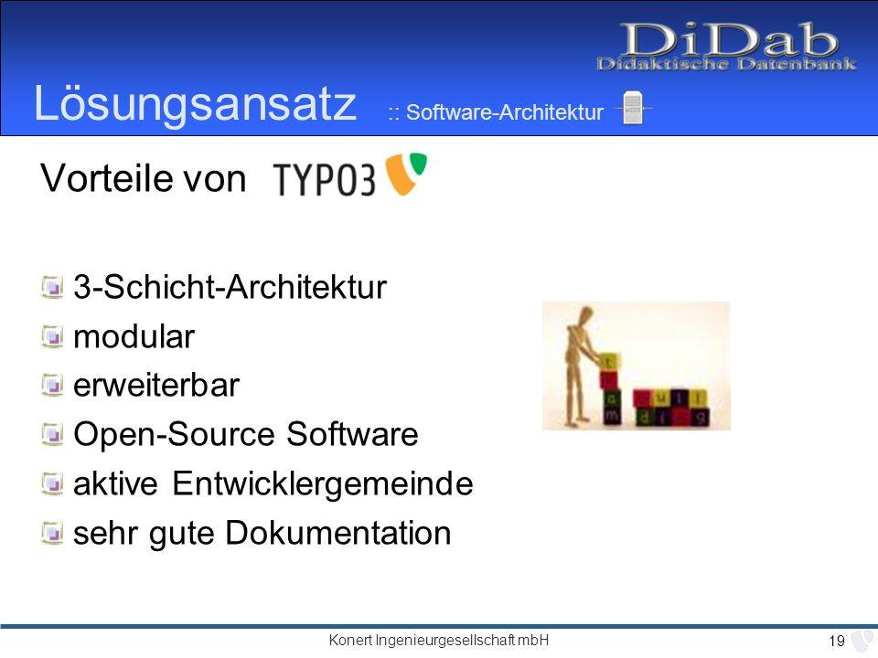 Ein didaktik orientiertes wissensmanagementsystem auf for Software architektur