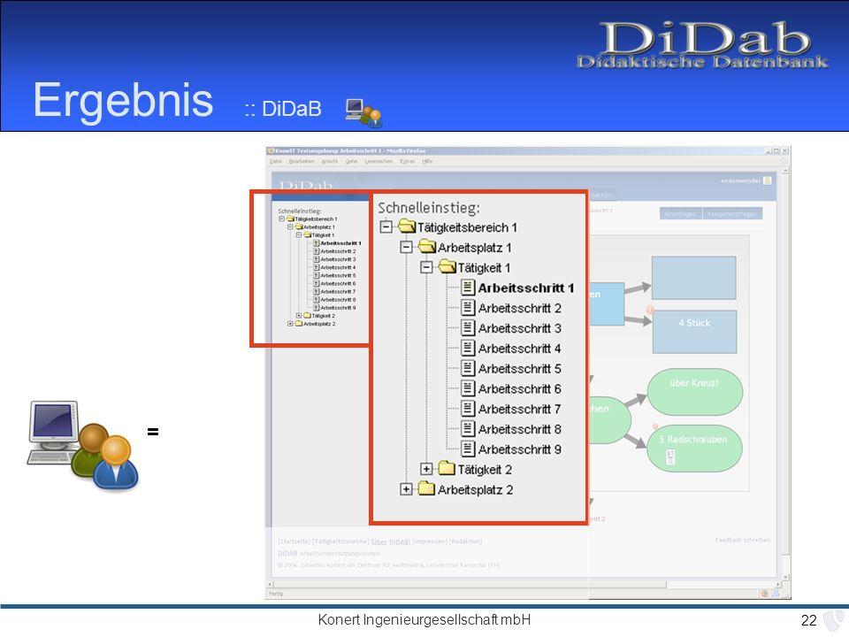 Ergebnis :: DiDaB = als nächstes Feedback…