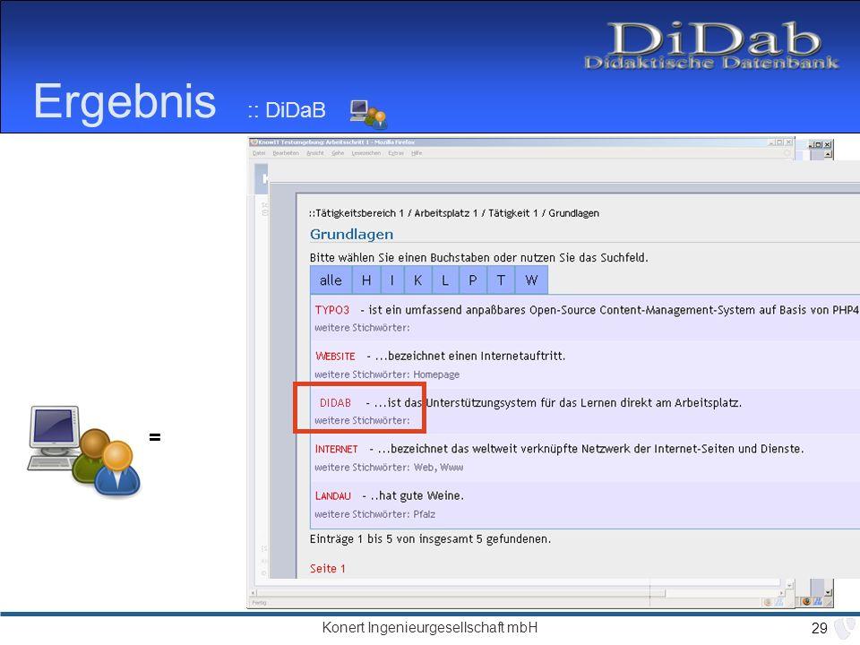 Ergebnis :: DiDaB = next: Redaktionsarbeit