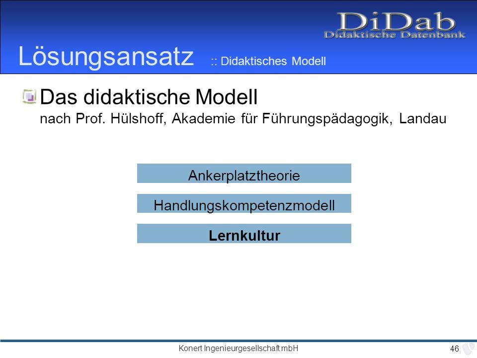 Lösungsansatz :: Didaktisches Modell