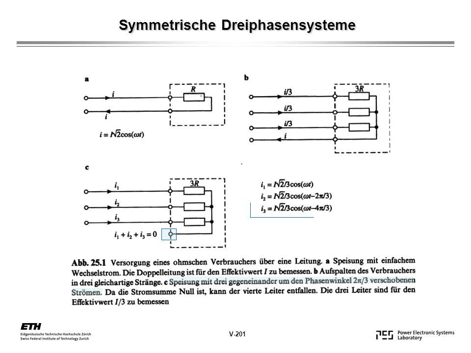 Symmetrische Dreiphasensysteme