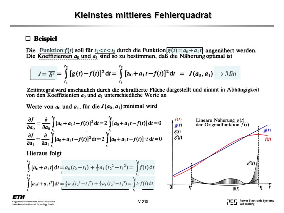 Kleinstes mittleres Fehlerquadrat