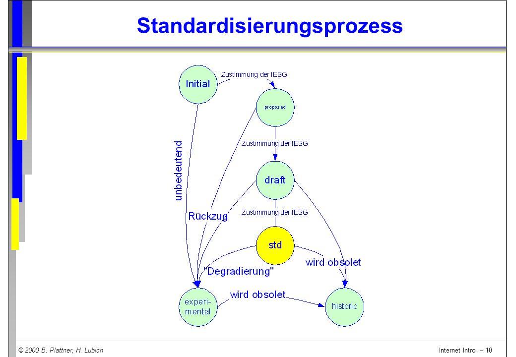 Standardisierungsprozess