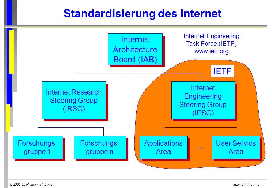 Standardisierung des Internet