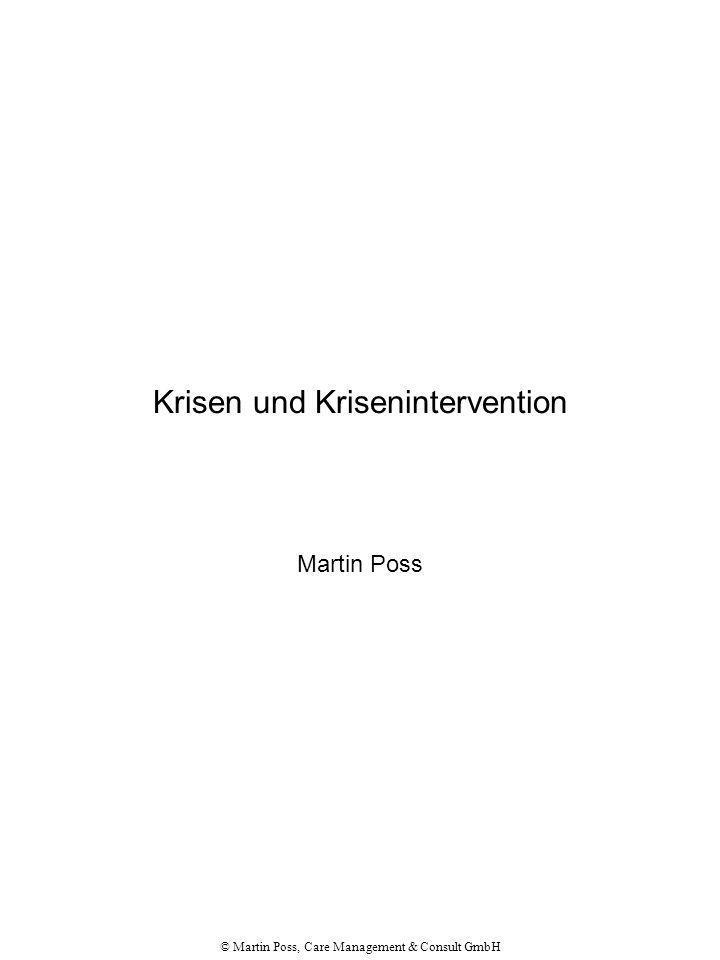 Krisen und Krisenintervention