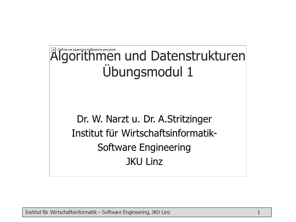 Algorithmen und Datenstrukturen Übungsmodul 1