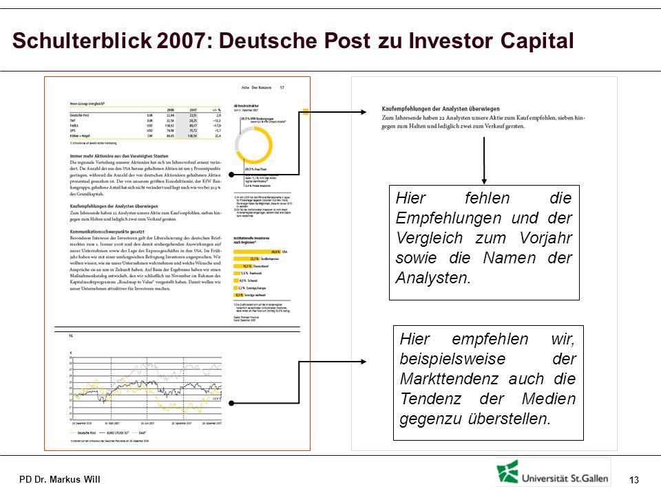 Schulterblick 2007: Deutsche Post zu Humankapital