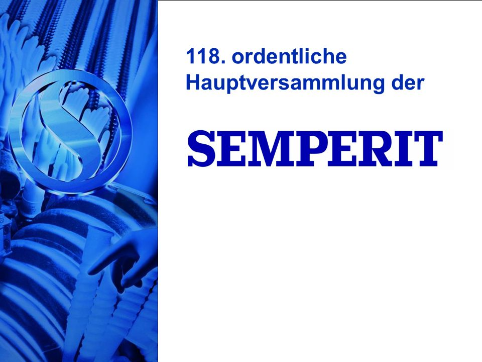 118. ordentliche Hauptversammlung der