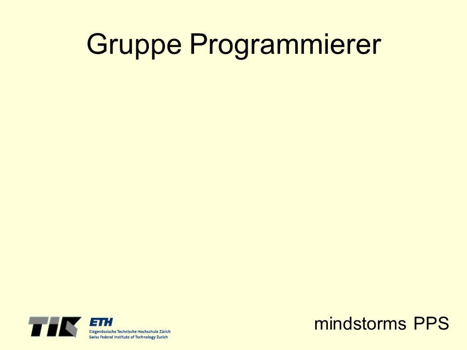 Gruppe Programmierer