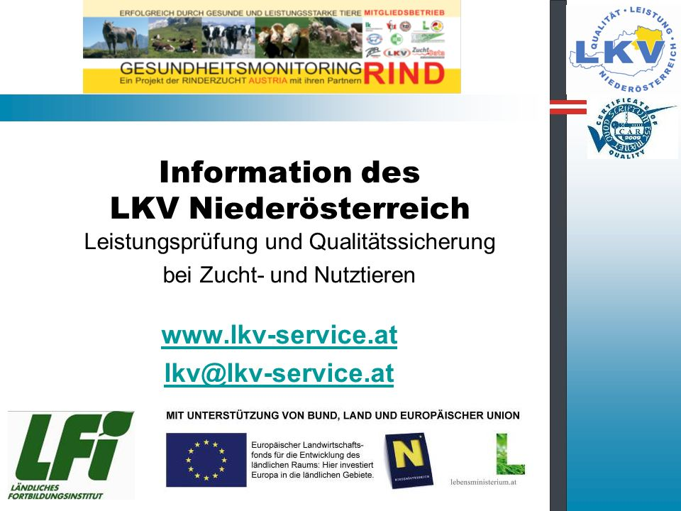 www.lkv-service.at lkv@lkv-service.at