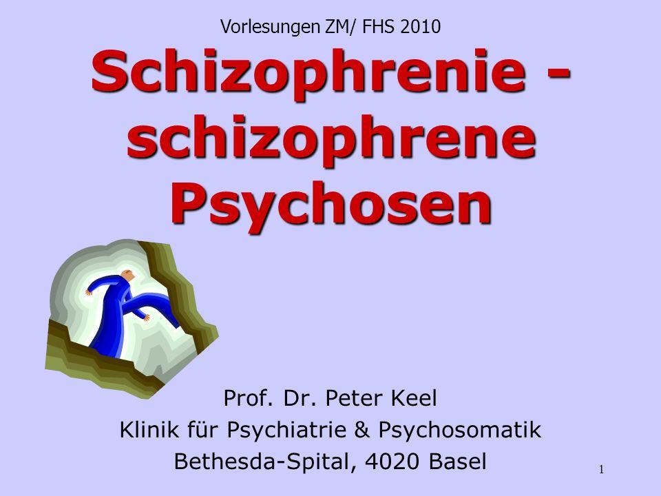 Schizophrenie - schizophrene Psychosen