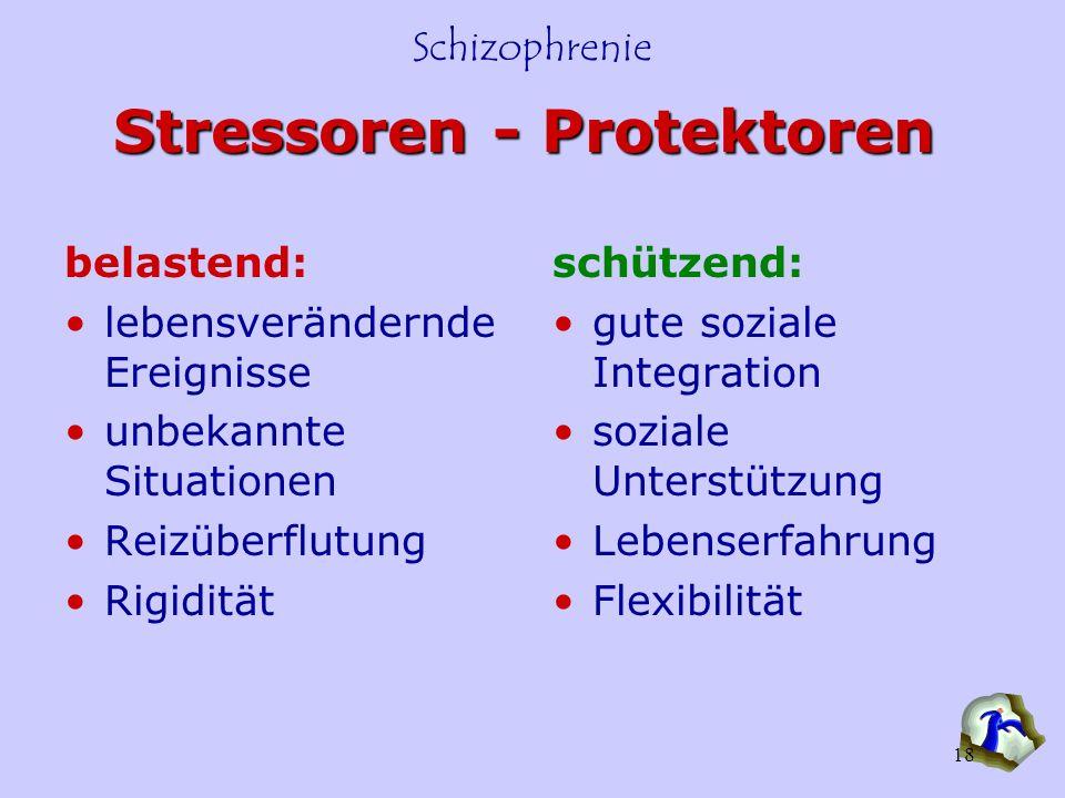 Stressoren - Protektoren