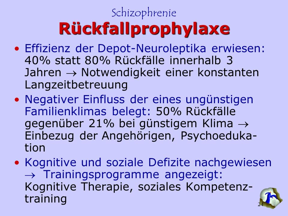 Rückfallprophylaxe