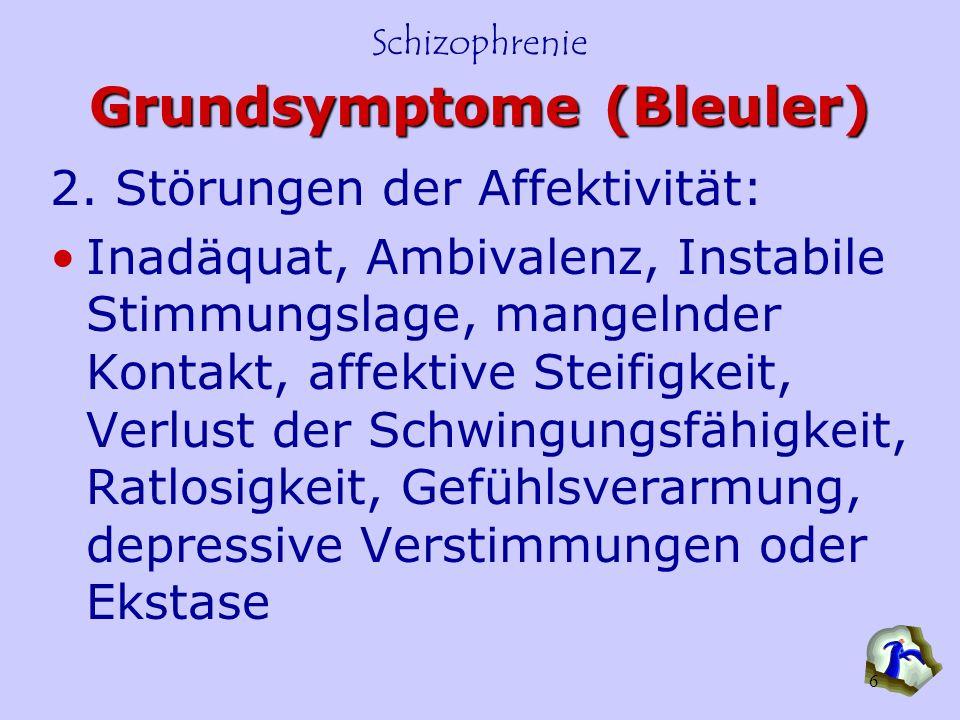 Grundsymptome (Bleuler)