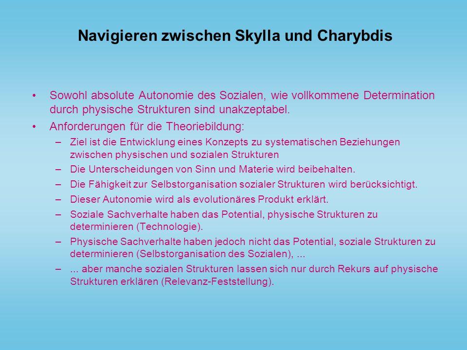 Navigieren zwischen Skylla und Charybdis