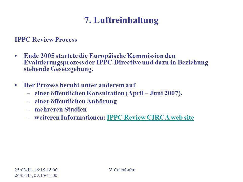 7. Luftreinhaltung IPPC Review Process