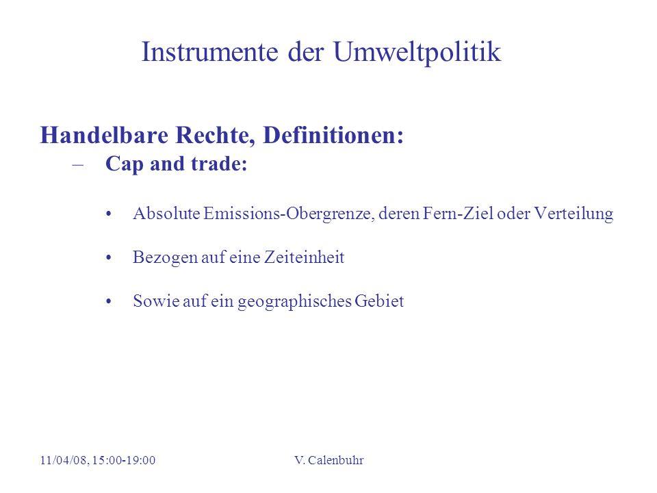 Instrumente der Umweltpolitik