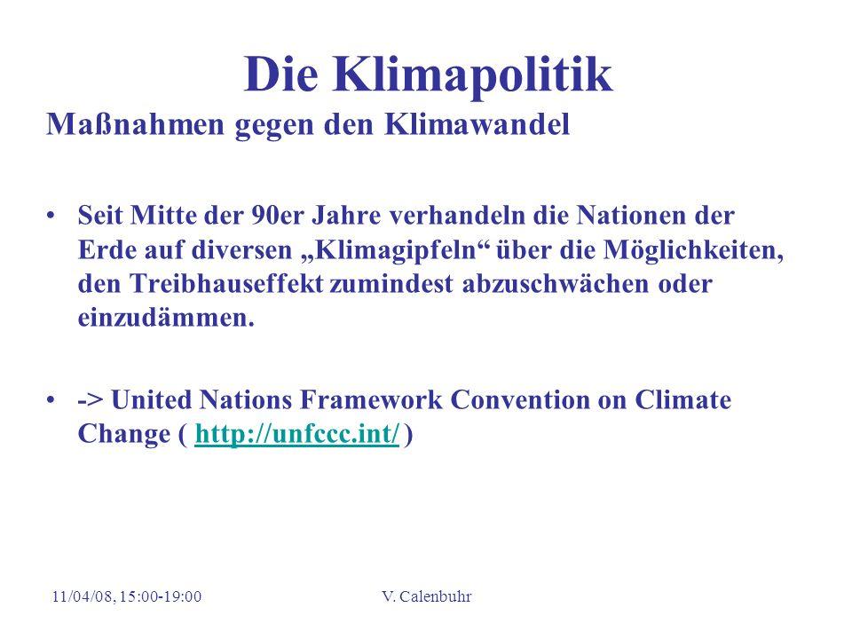 Die Klimapolitik Maßnahmen gegen den Klimawandel