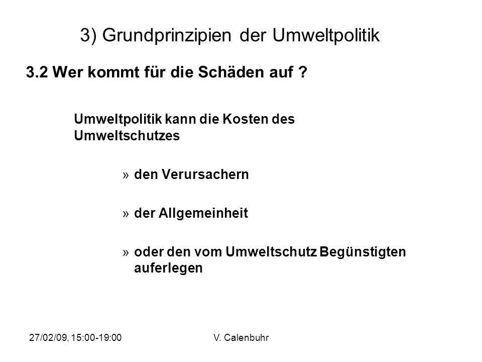 3) Grundprinzipien der Umweltpolitik