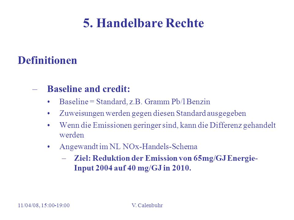 5. Handelbare Rechte Definitionen Baseline and credit: