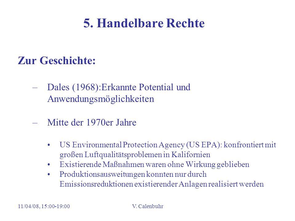 5. Handelbare Rechte Zur Geschichte: