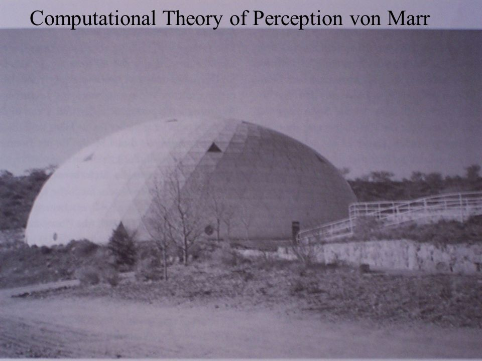 Computational Theory of Perception von Marr
