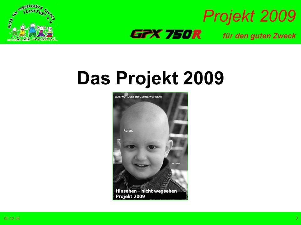 Das Projekt 2009 05.12.08