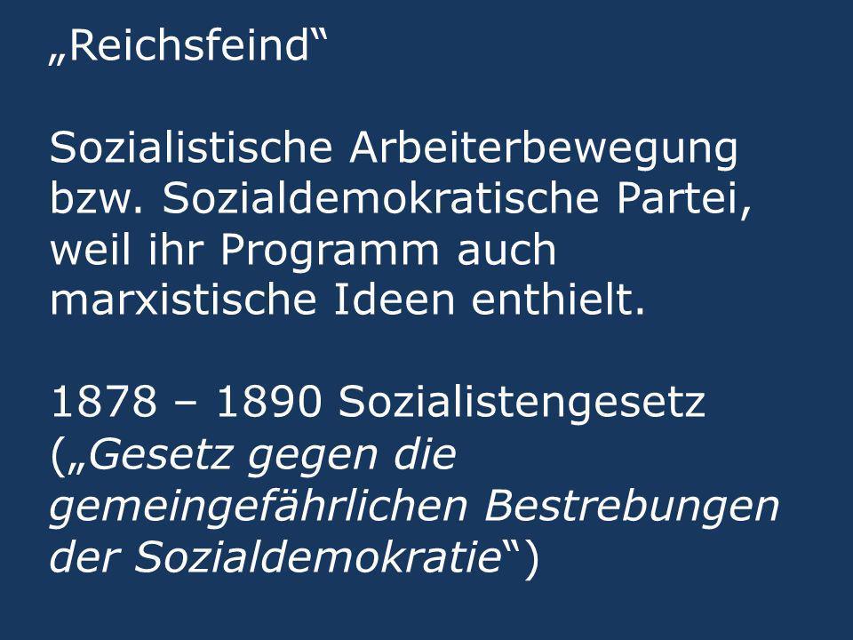 """""""Reichsfeind Sozialistische Arbeiterbewegung bzw"""
