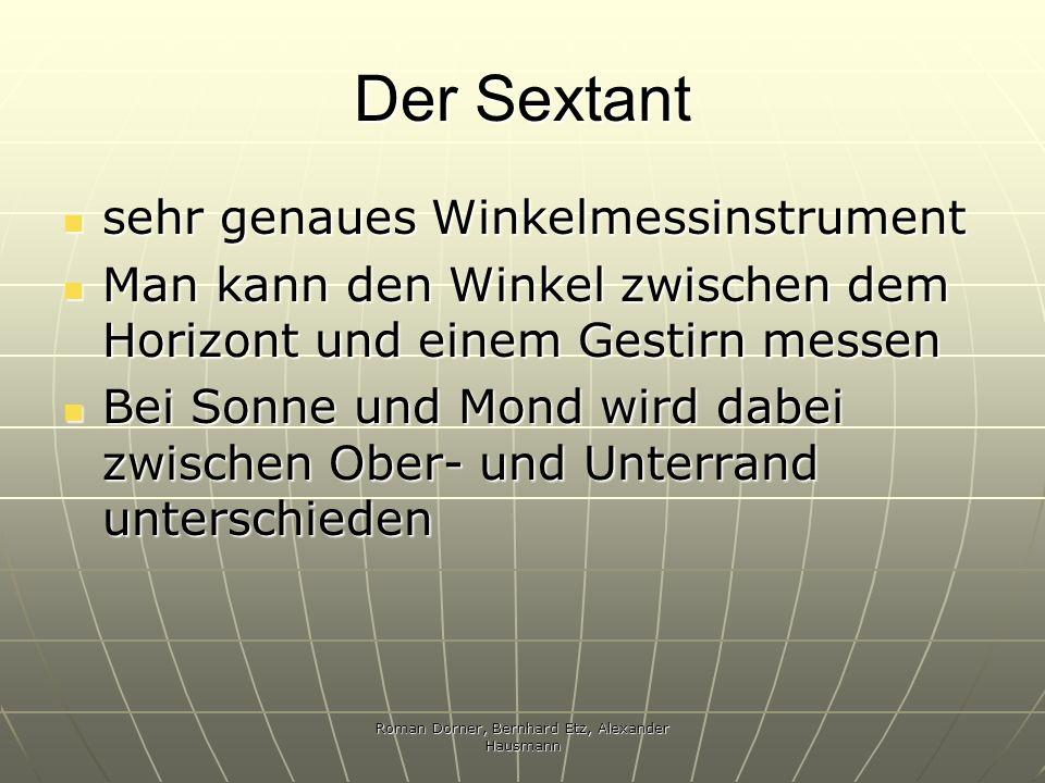 Roman Dorner, Bernhard Etz, Alexander Hausmann
