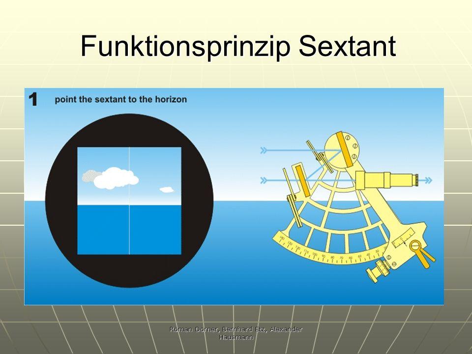 Funktionsprinzip Sextant