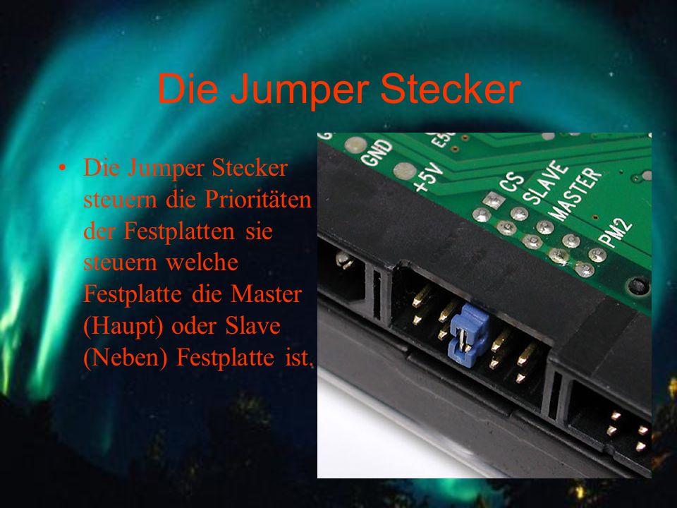 Die Jumper Stecker