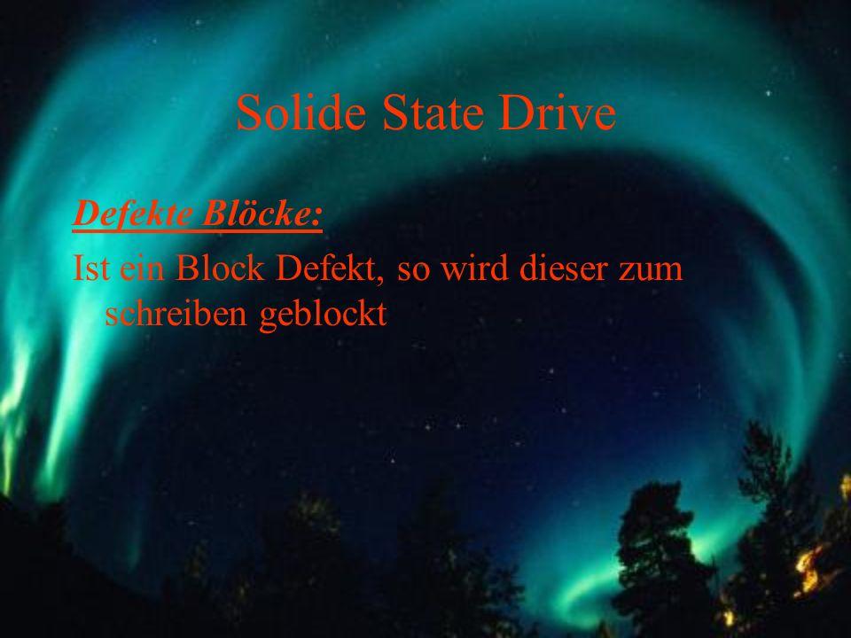 Solide State Drive Defekte Blöcke: